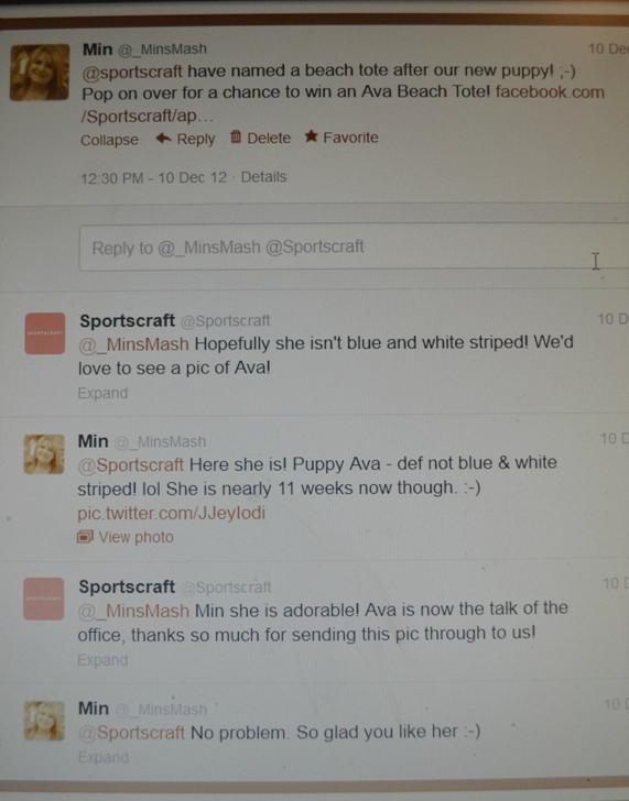 Sportscraft Tweets