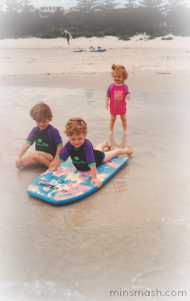 Flashback Friday - Kids at Beach