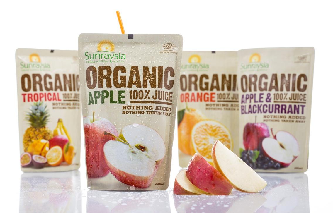 Sunraysia Organic range