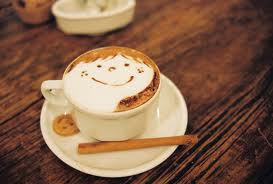 smiley cappucino