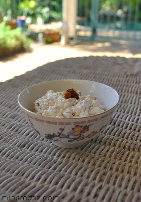 Muesli and Yoghurt