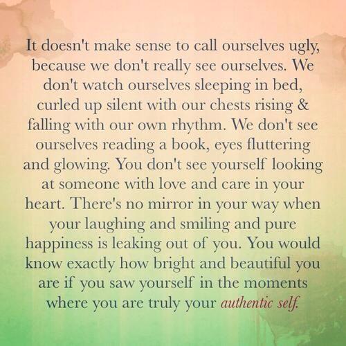 quote, authentic self