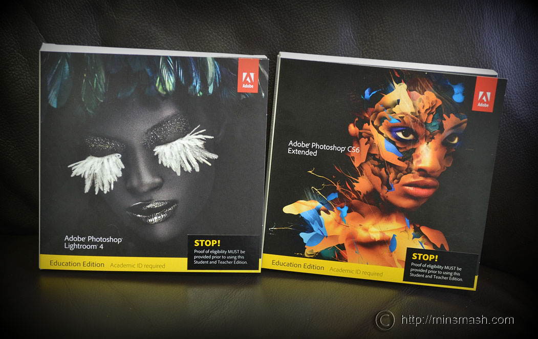 Adobe Photoshop CS6, Adobe Lightroom 4