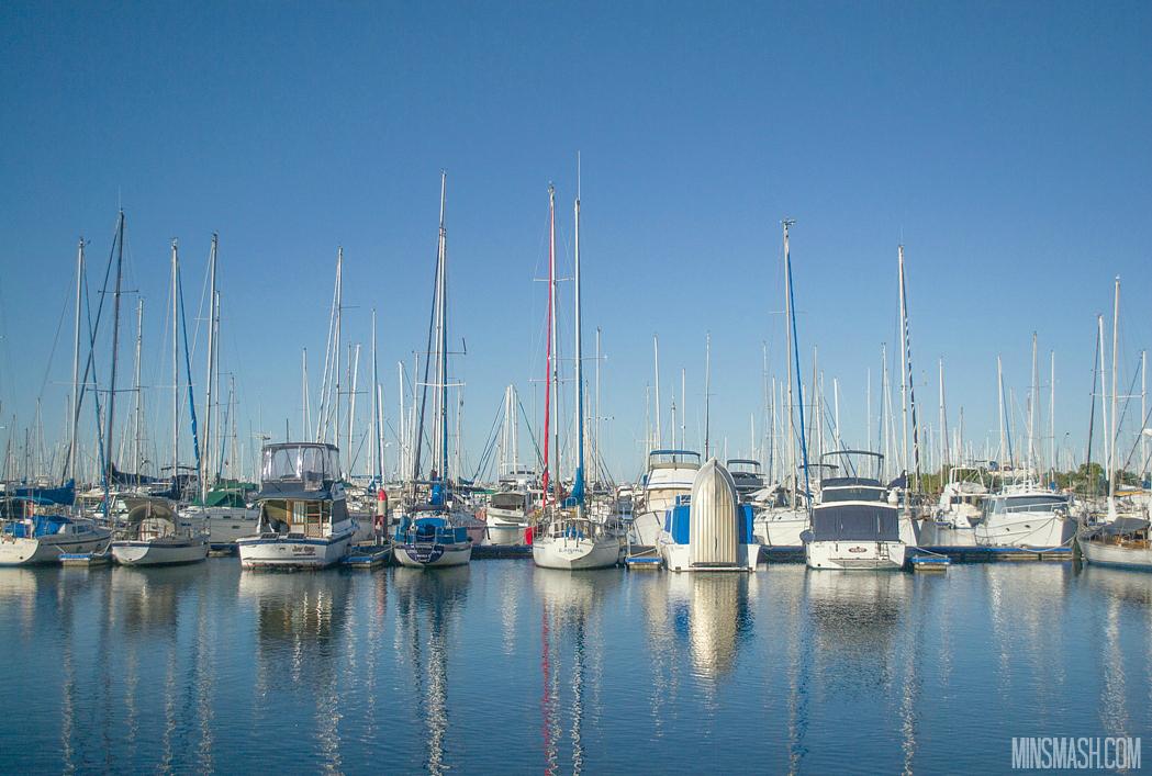 Manly, Marina, Boats