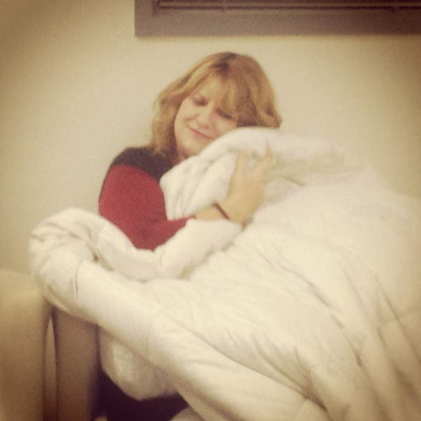 Min and quilt