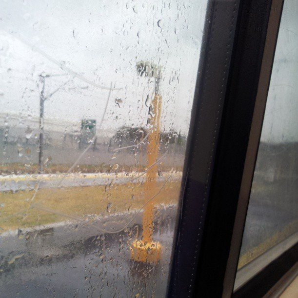 train, rain, rainy day