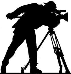 Filming, camera, tripod