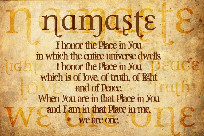 namaste meaning