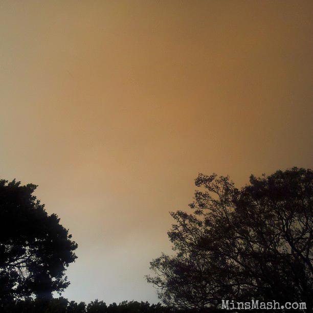 Bushfires in Sydney, Sky