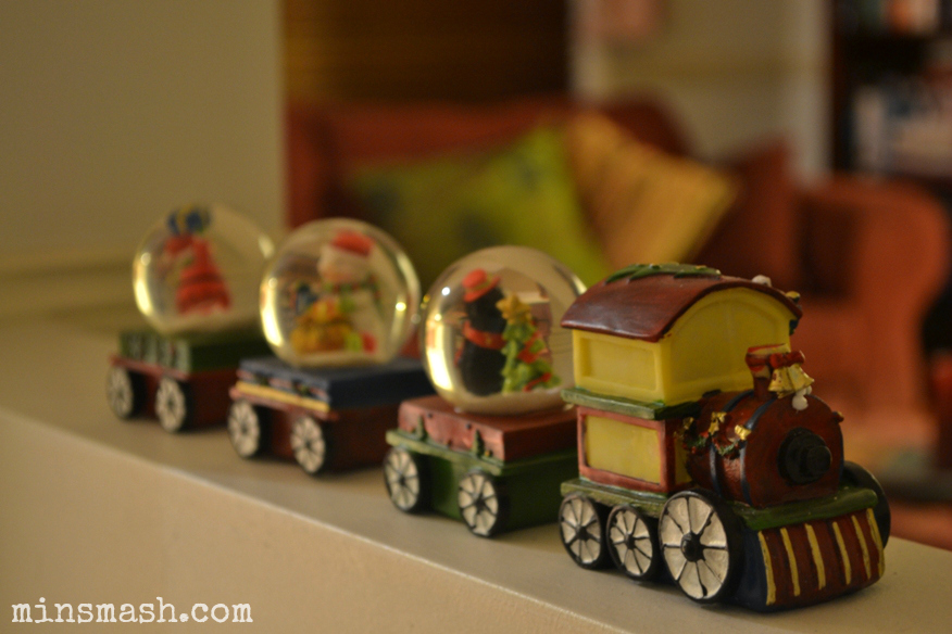 christmas train, christmas decoration