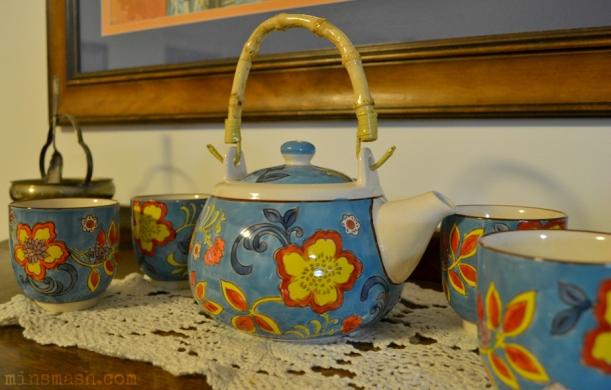 teapot, tea set