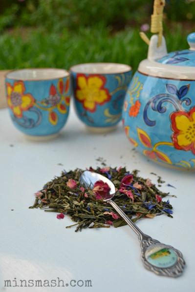 tea, green tea