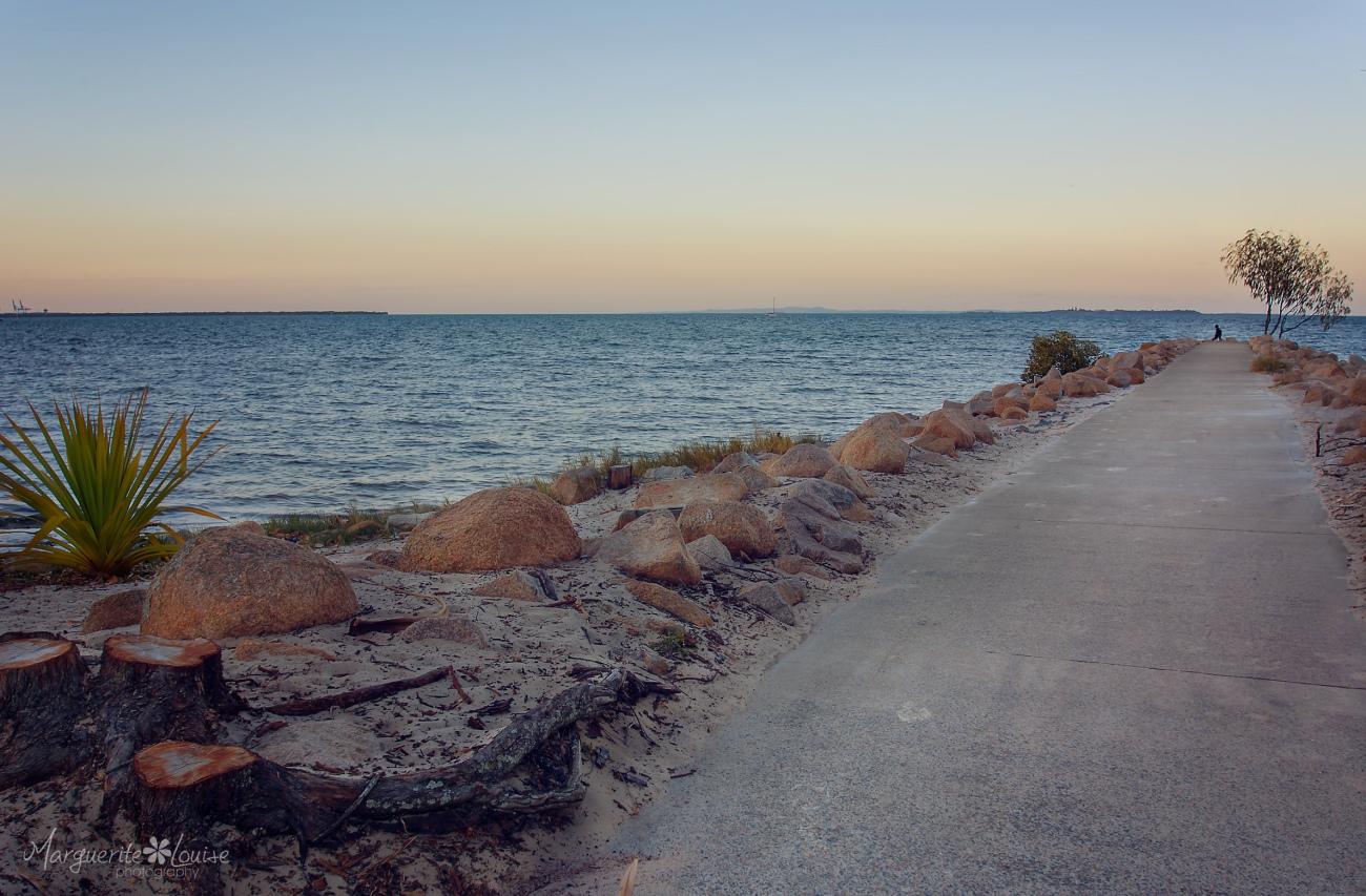 pandanus beach, wynnum