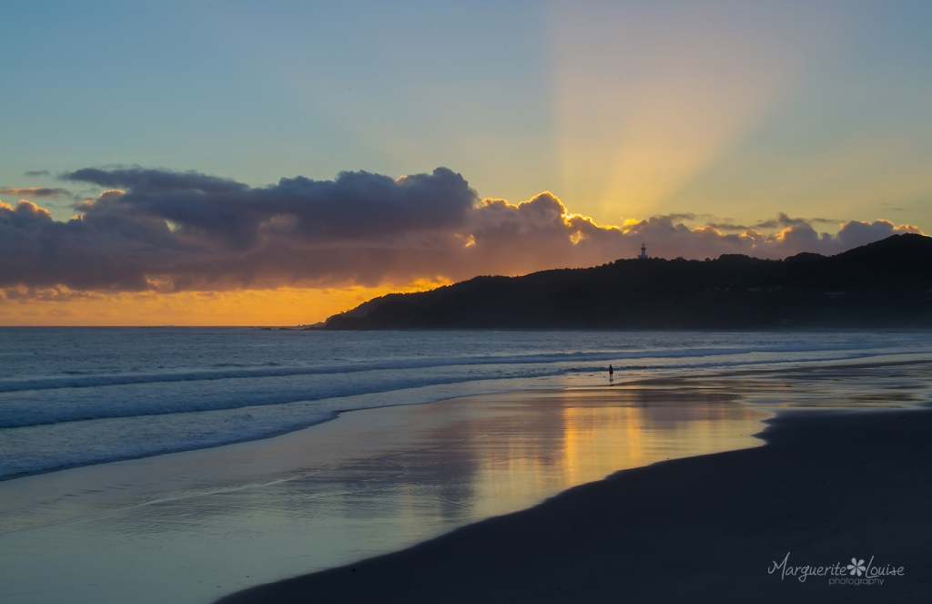 Sunrise at Byron Bay Beach